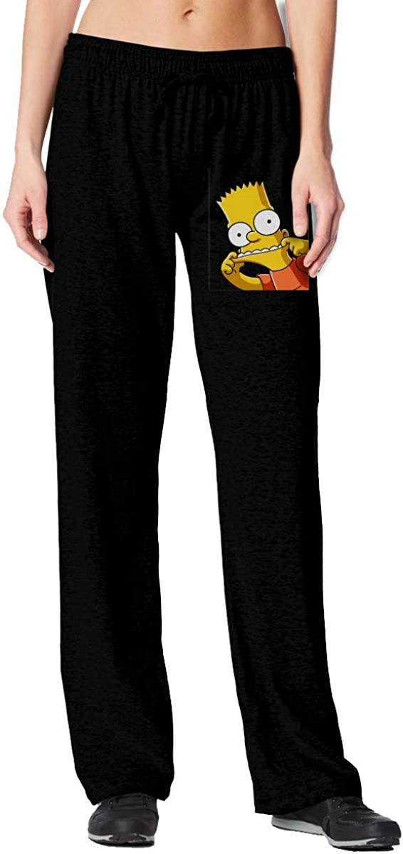 Simpsons Womens High Waisted Sweatpants Joggersbaggy Workout Pants with Pockets Lounge Trousers