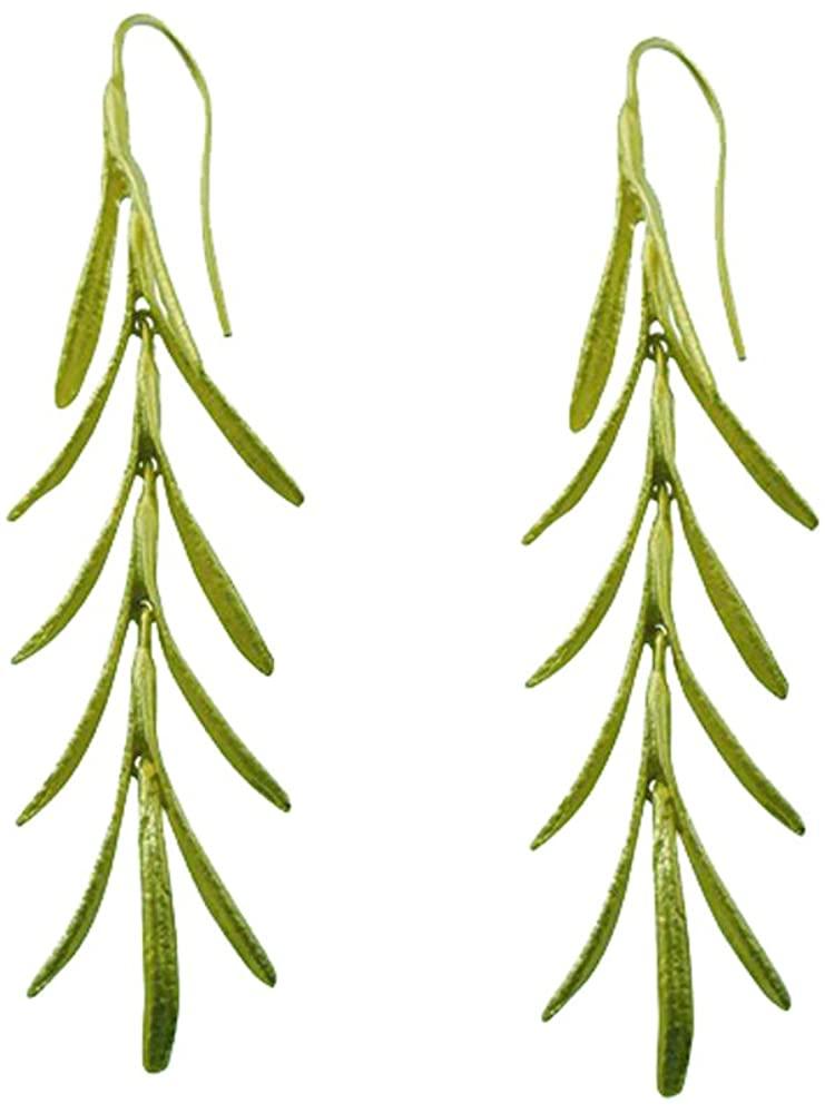 Rosemary Long Earrings by Michael Michaud #4415