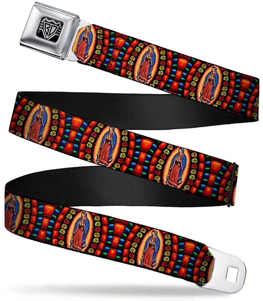 Buckle-Down Seatbelt Belt - Virgen de Guadalupe - 1.5