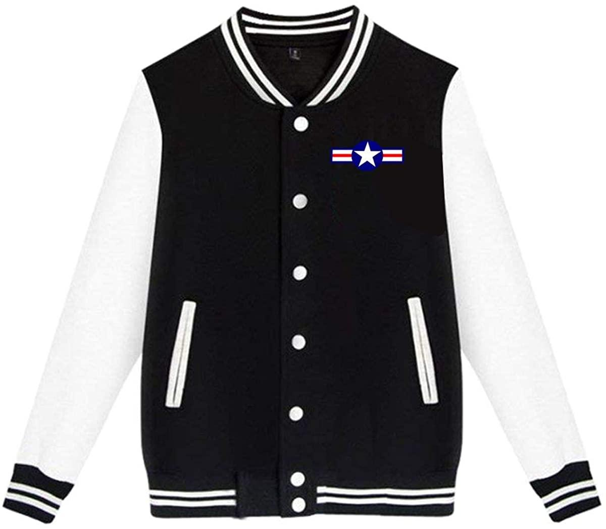 1836 Us Air Force USAF Unisex Baseball Jacket Varsity Jacket