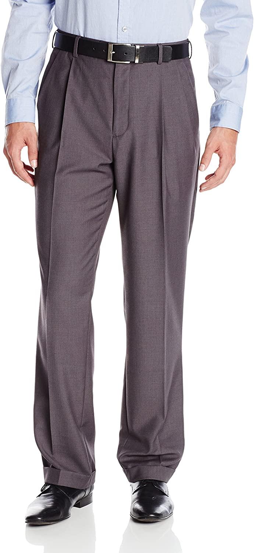Louis Raphael Men's Straight Fit Pleated Suit Seperate Pant