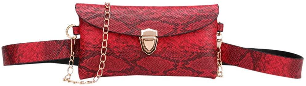 nightfall Waist Bag for Womens Fanny Packs Fashion Flap Crossbody Bags Quilted Belt Bag Ladies Waist Purse