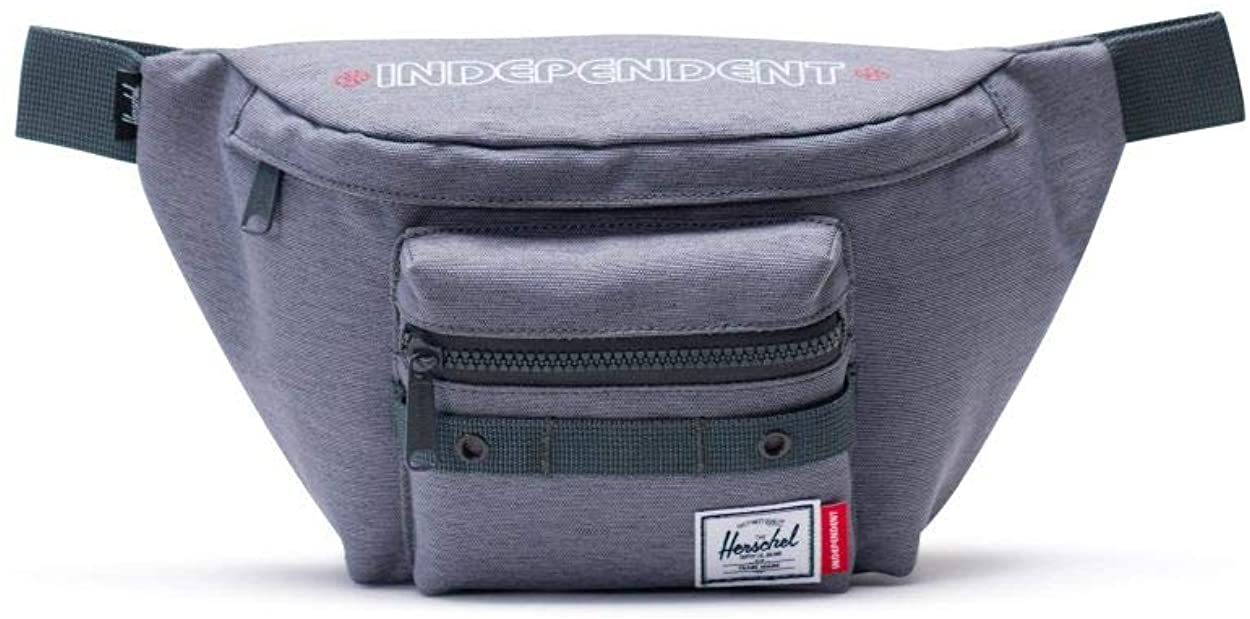 Herschel - Herschel Independent Classic Unisex One Size Grey Canvas Waist Bag 10613-02570-OS