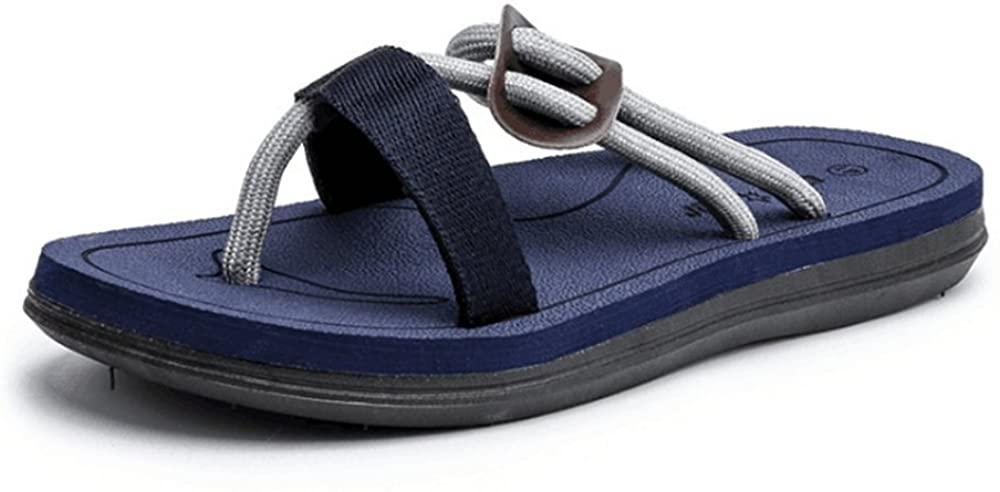 WENNEW Mens Sandals Lightweight Comfy For Boys Toss Flops