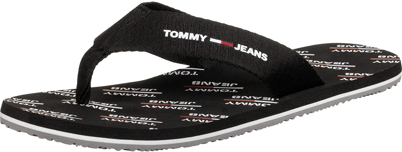 Tommy Jeans Print Beach Sandal Mens Beach Sandals