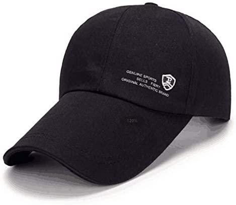 Carimee Unisex Baseball Cap Hat Plain Adjustable Lengthen