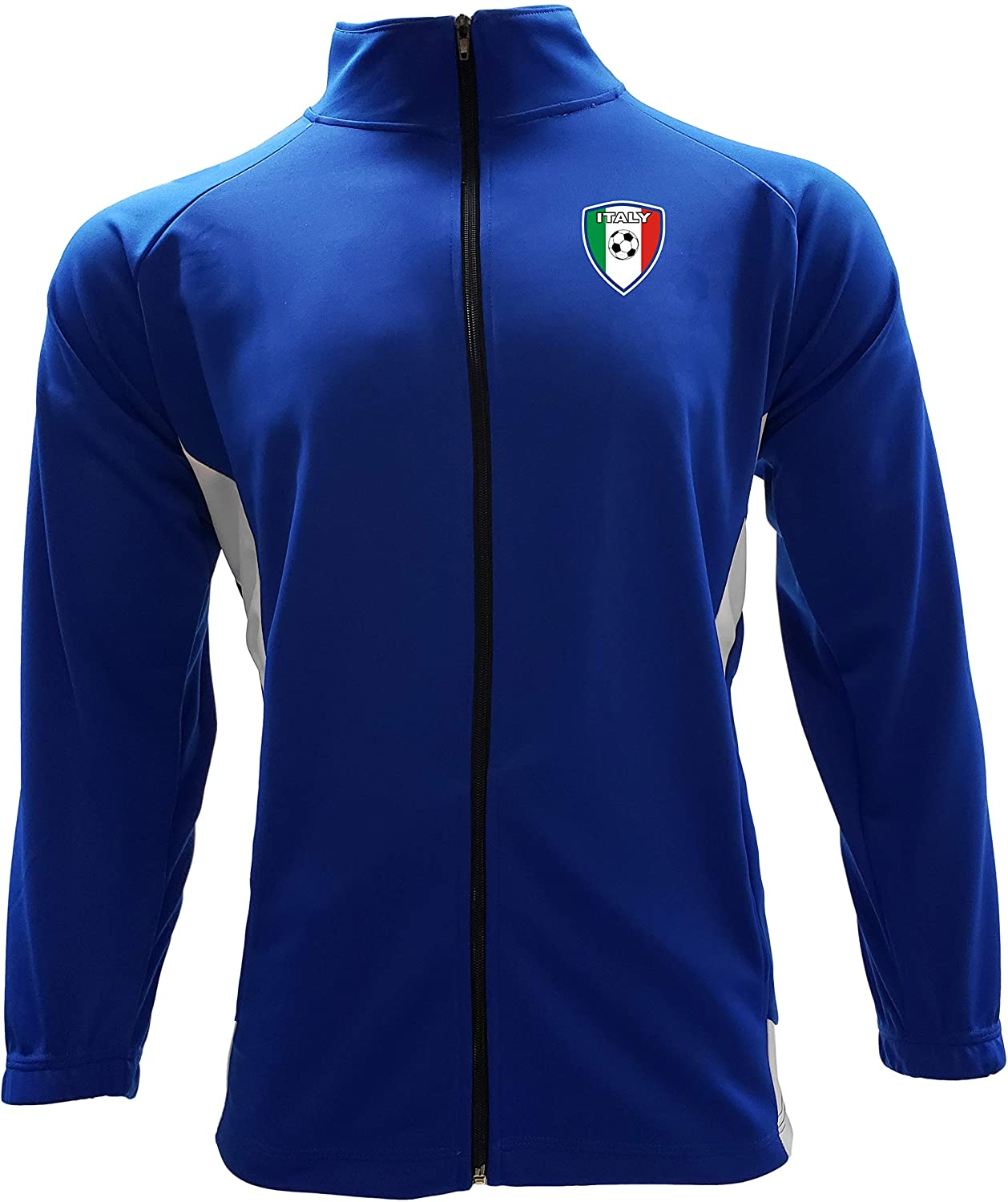 Arza Sports Men's Track Jacket Italy Color Blue/White