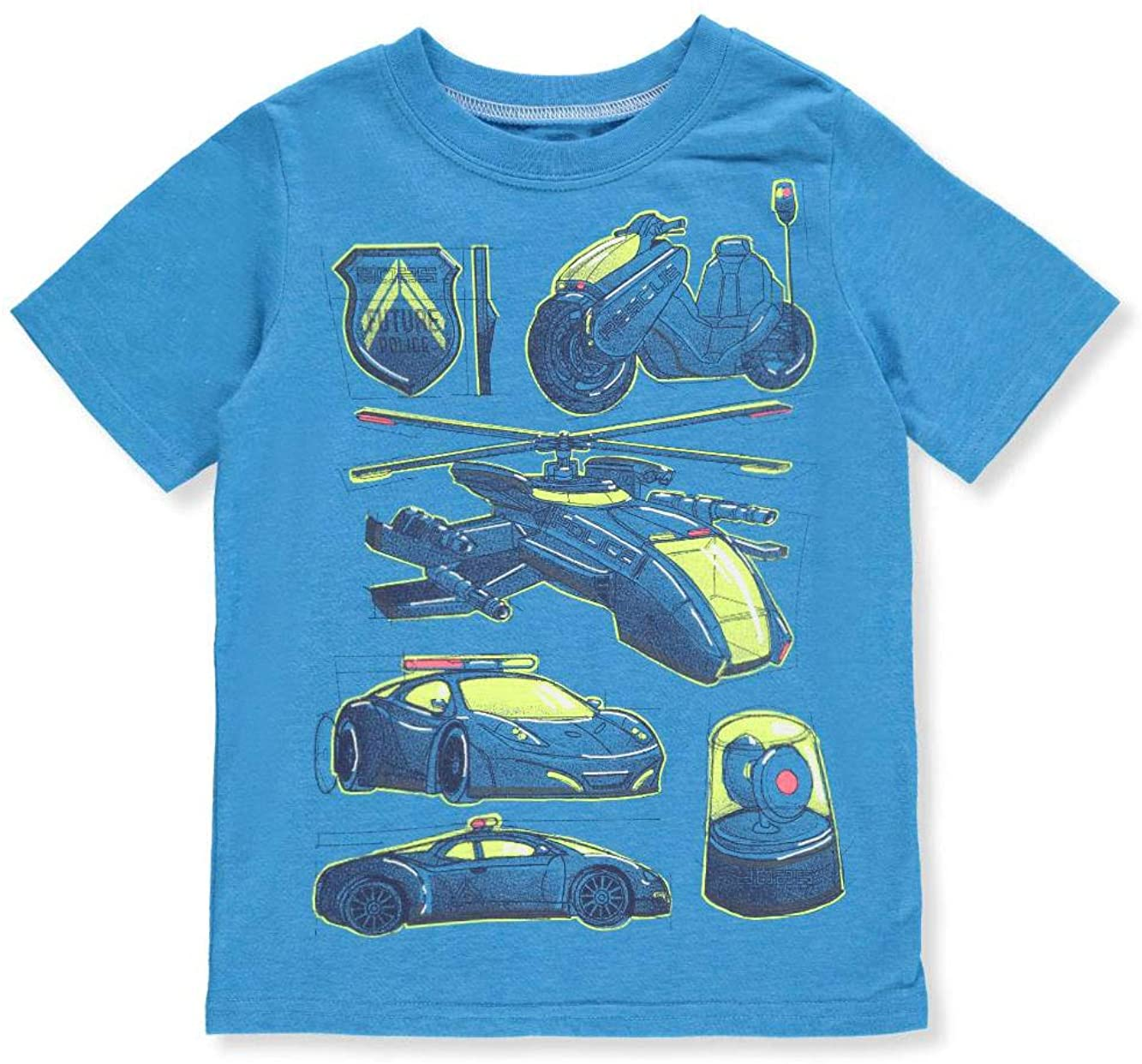 Carter's Boys' 2T-8 Short Sleeve Rescue Tee