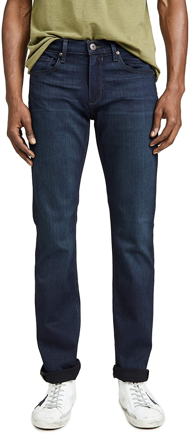 PAIGE Men's Federal Slim Jeans in Russ Wash