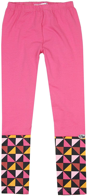 Deux par Deux Girls' Pink Leggings Oh, My Dog!, Sizes 7-12