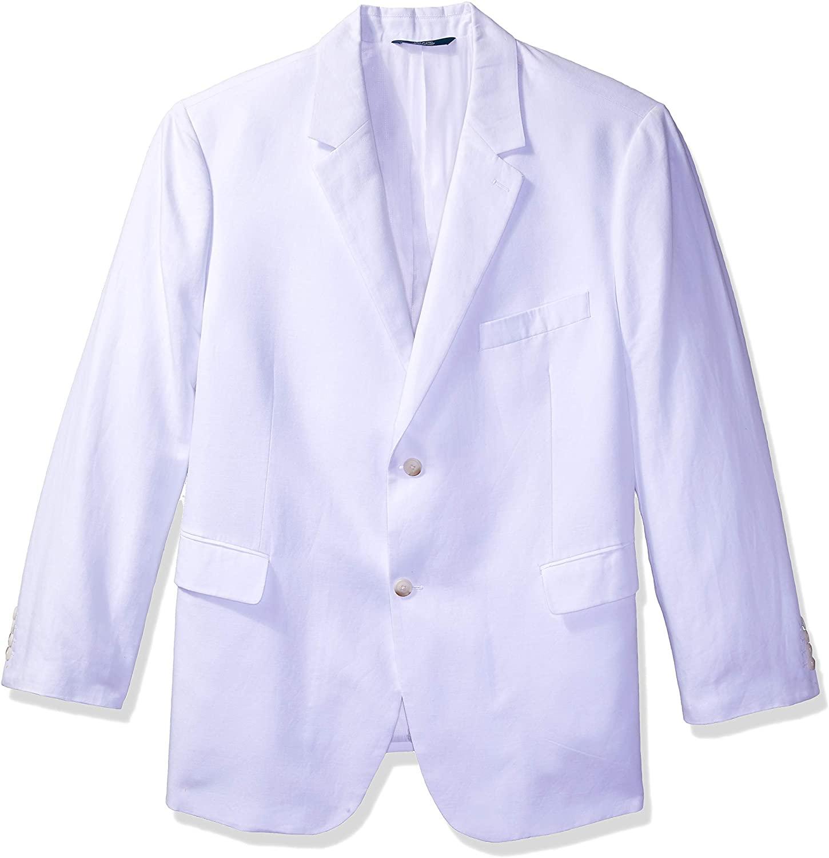Perry Ellis Men's Linen Cotton Twill Suit Jacket