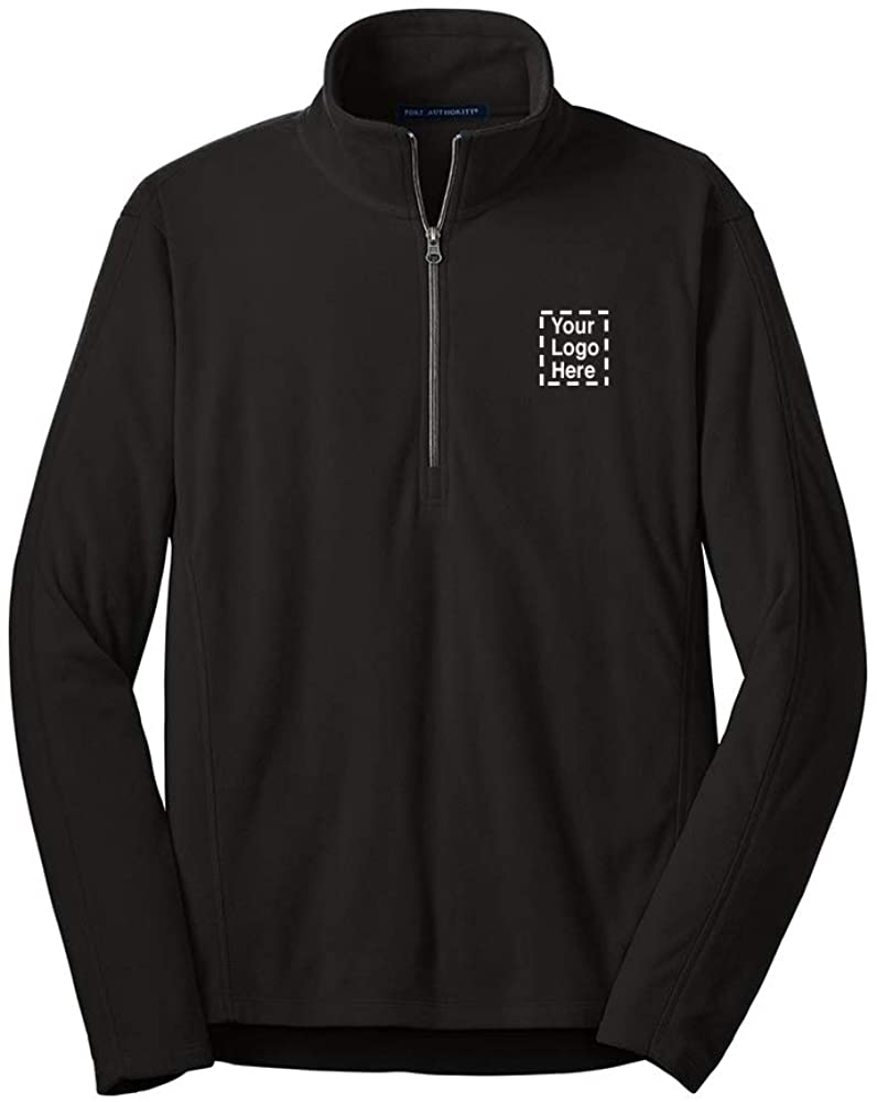 Microfleece 1/2-Zip Pullover |36 Qty |35.34 Each |Promotional Pullover with Your Logo