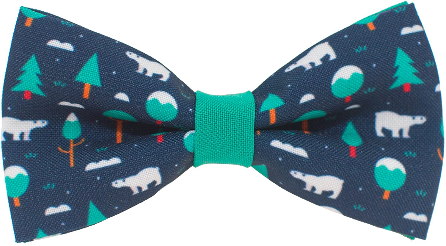 Christmas Bow Ties New Year patterns pre-tied for kids children teens boys, by Bow Tie House