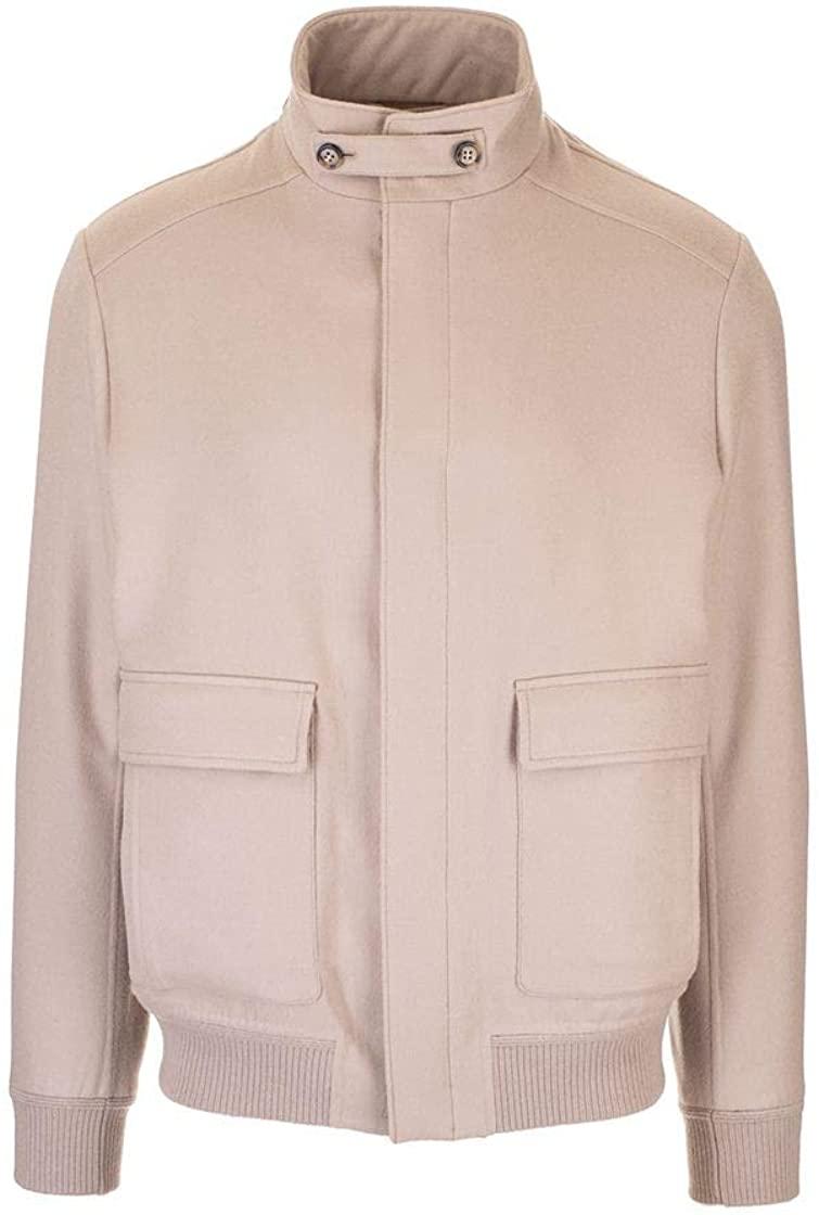 Loro Piana Luxury Fashion Mens FAI9295D293 Beige Outerwear Jacket   Spring Summer 20