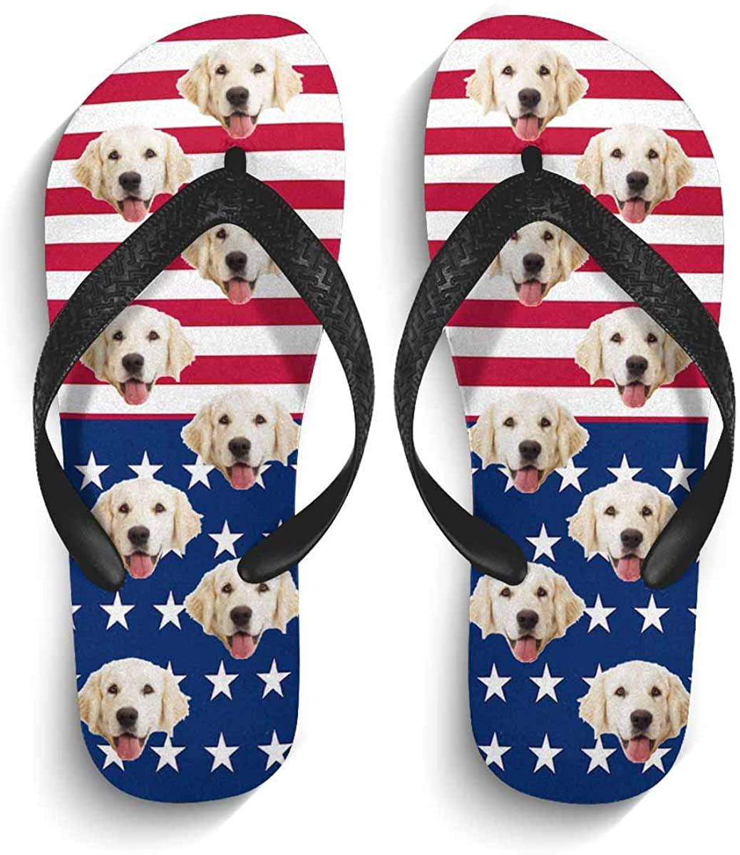 Custom Beach Sandals Indoor Outdoor Non-Slip Casual Flip Flops for Men/Women