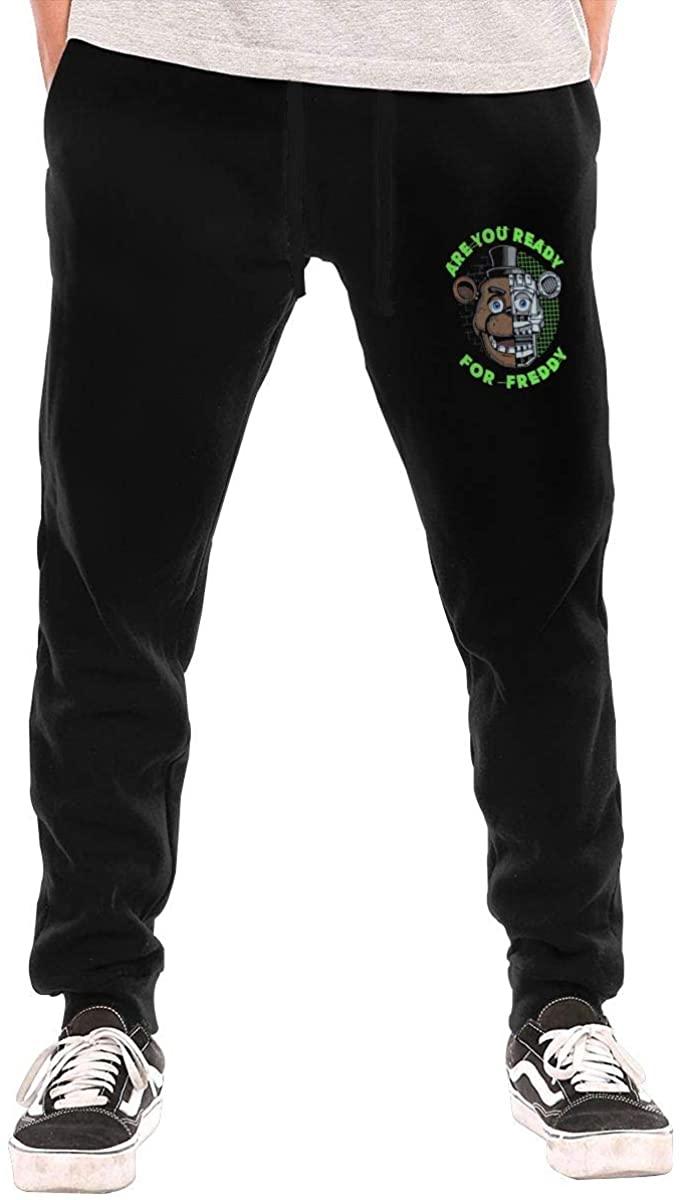 Hkdfjg Freddy's 2 Men's Sweatpants