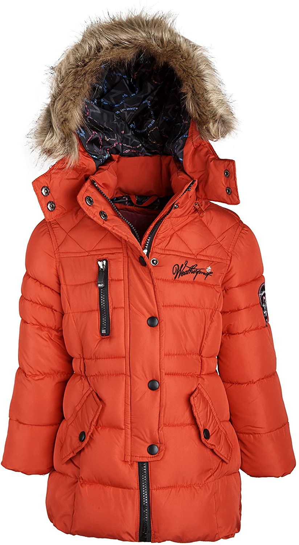 Weatherproof Little Girls Down Alternative Winter Puffer Bubble Jacket Coat Hood