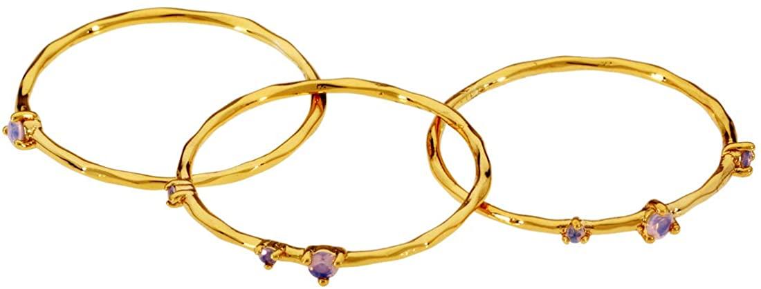 gorjana Cleo Ring Set of 3