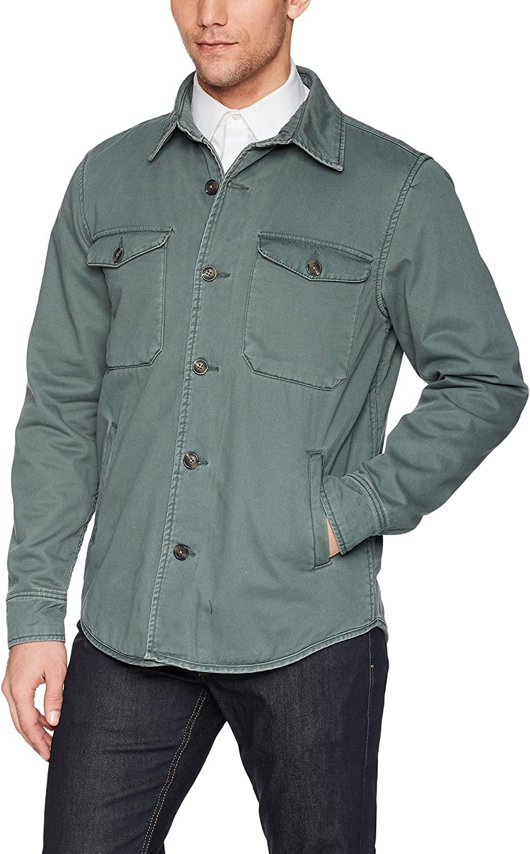 Velvet by Graham & Spencer Velvet Men Military Inspired Retro Jacket, sage