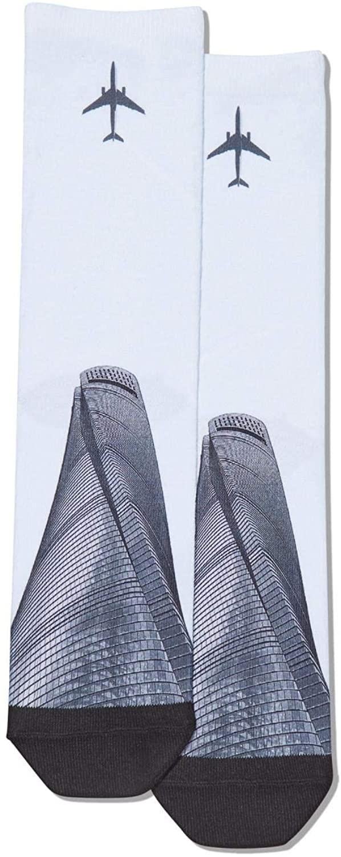Hot Sox Men's Printed Design Socks