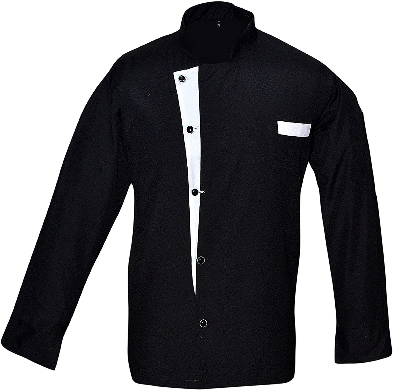 Leorenzo Creation NC-01 Beauteous Design Men's Chef Coat/Jacket (Size=XXS-5XL, Many Color Coats)