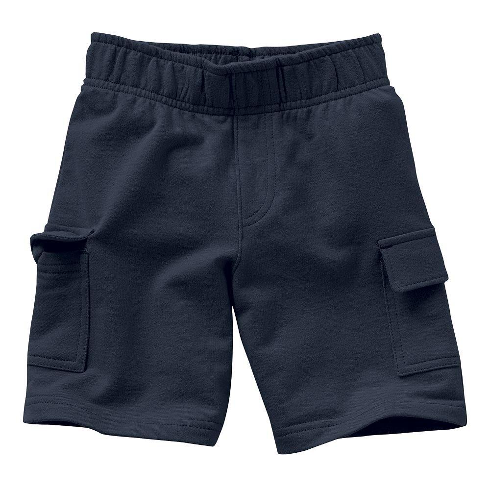 Boys Jumpin Beans Pull on Cargo Shorts (18M, Navy)