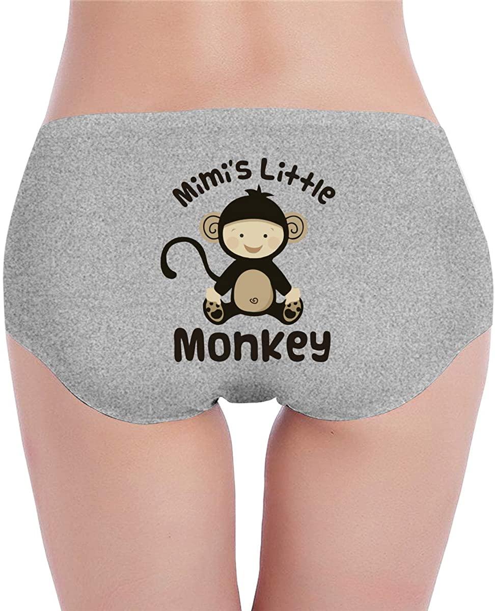 Mimis Little Monkey Women¡¯s Low Waist Cotton Brief Panty