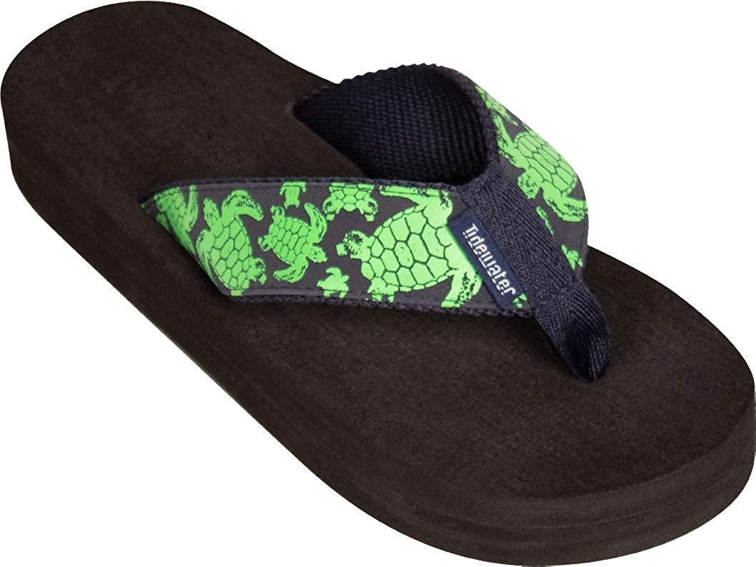 Tidewater Women's Green Turtle Sandals
