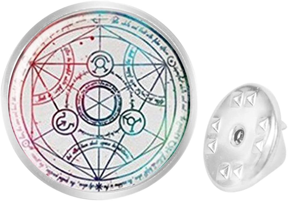 Custom Lapel Pin Brooches Fullmetal Alchemist Banquet Badge Pins Trendy Accessory Jacket T-Shirt Bag Hat Shoe