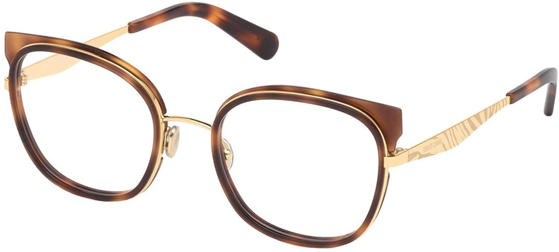 Eyeglasses Roberto Cavalli RC 5093 052 Shiny Havana, Pink Gold, Gold W. Zebra Pr