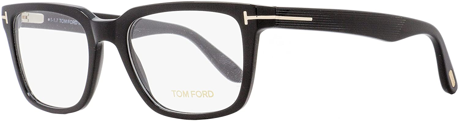New Tom Ford Eyeglasses Men TF 5304 Black 001 TF5304 54mm