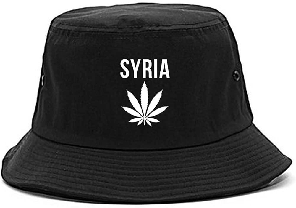 Country of Syria Weed Leaf Pot Marijuana Bucket Hat