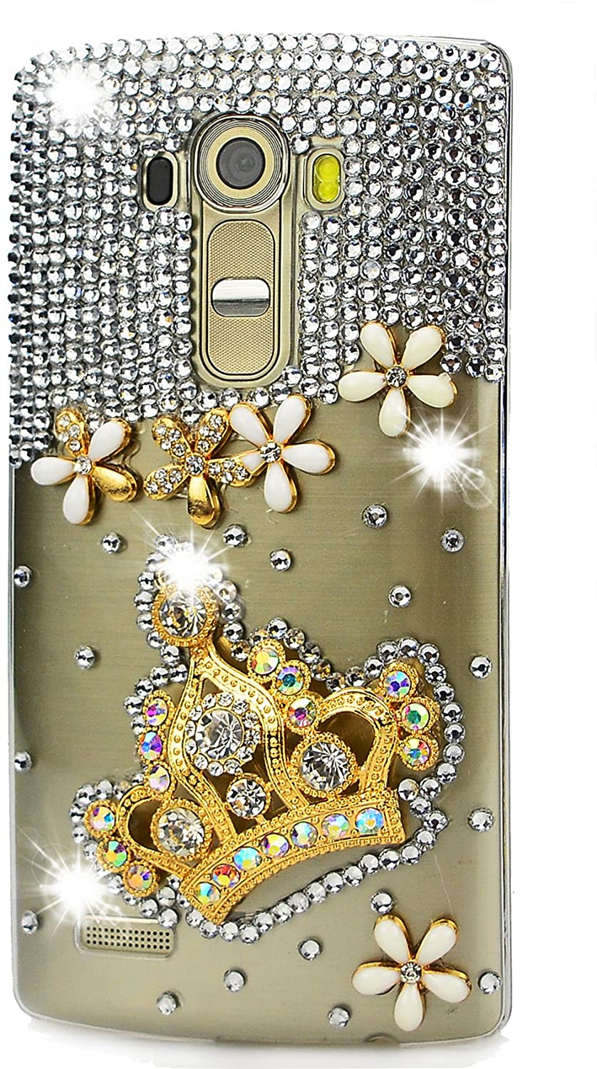 STENES 3D Handmade Sparkly Rhinestone Crystal Case for Huawei Mate 10 Pro - 10