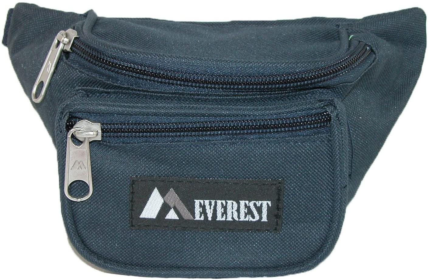 Everest Boys' Fabric Waist Pack, Navy