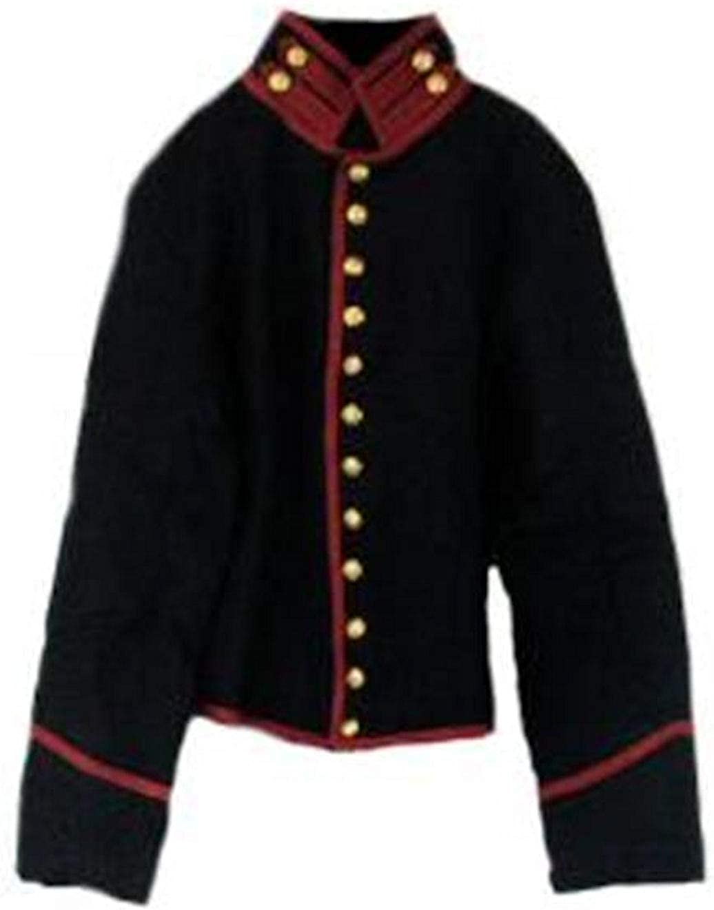 Kids Civil War Reproduction Federal Artillery Shell Jacket (08)
