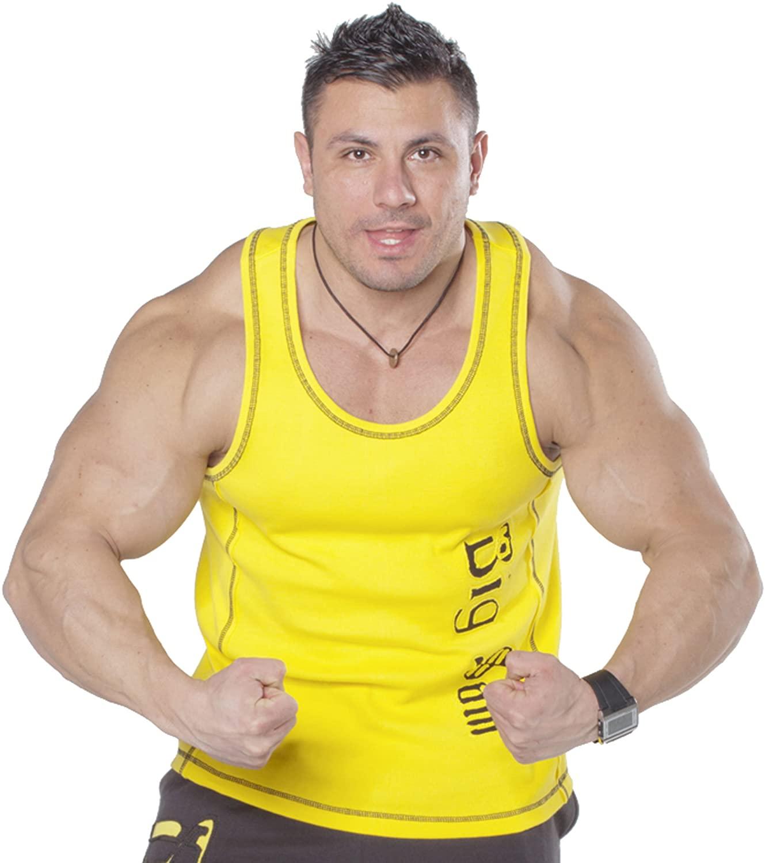 BIG SAM SPORTSWEAR COMPANY Bodybuilding Men's Muscleshirt Tanktop T-Back Tee Tank Stringer 2087