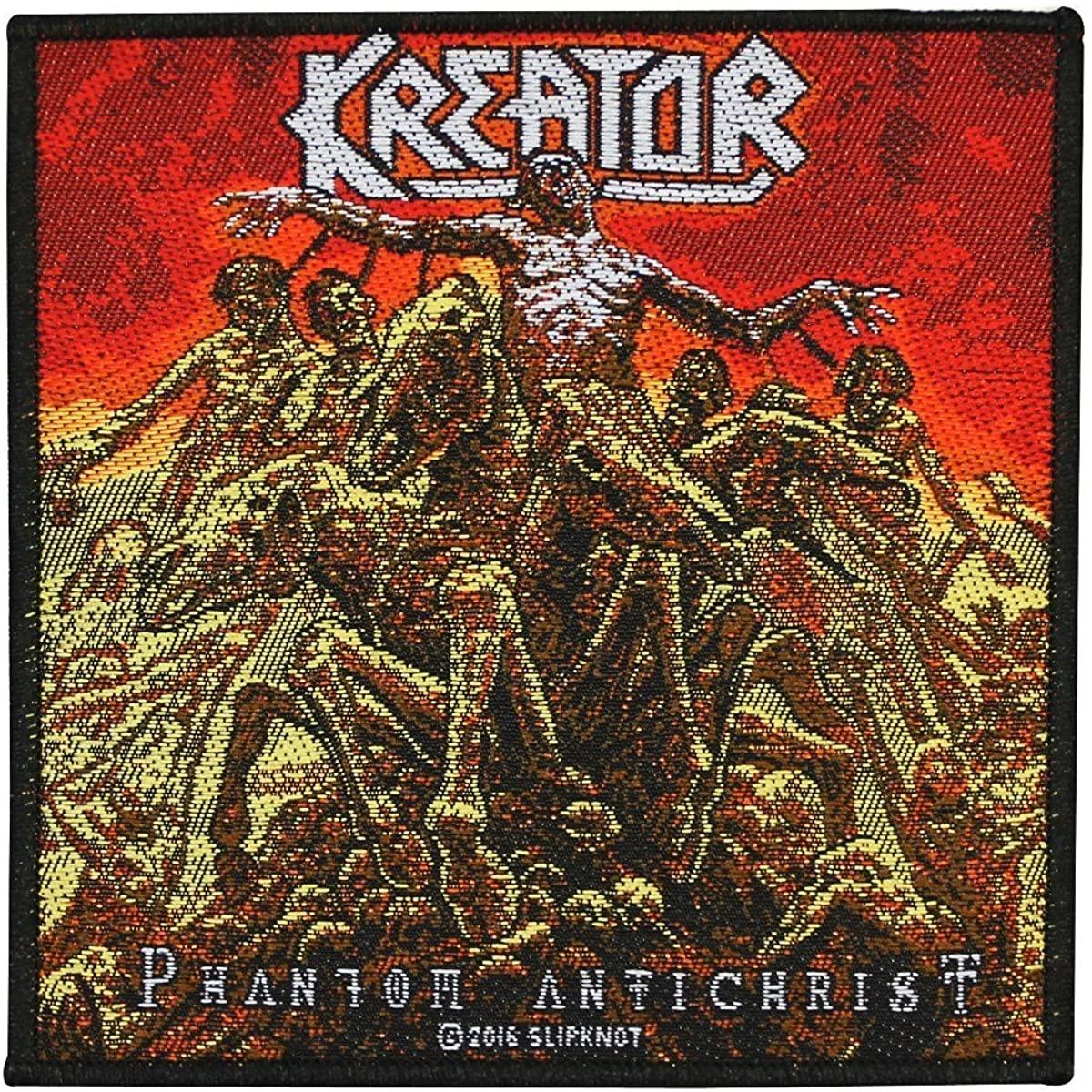 Kreator Phantom Antichrist Patch Album Art Thrash Metal Woven Sew On Applique