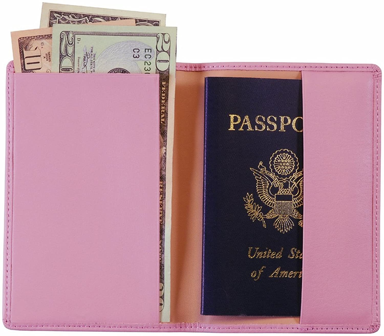 Royce Leather Plain Passport Jacket