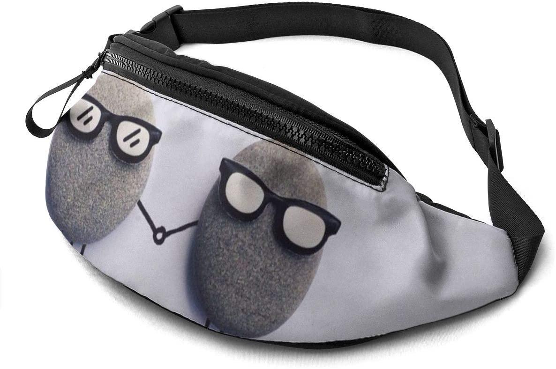 Creative Cute Pebbles Fanny Pack Fashion Waist Bag