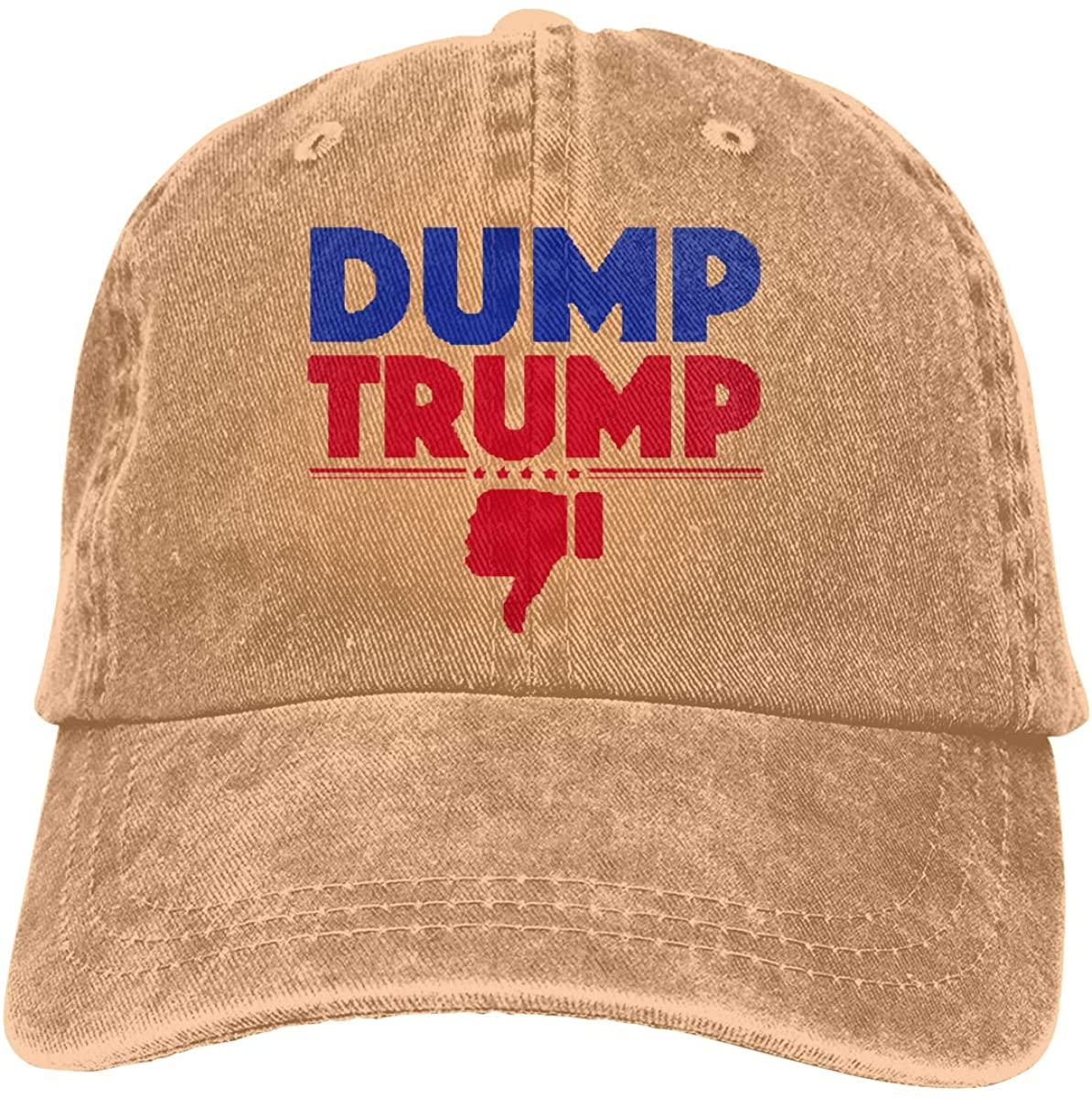 Classic Dump Trump - Flush The Turd November 3rd Adult Adjustable Denim Cowboy Hat
