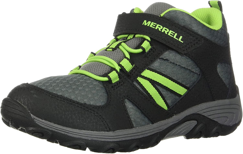 Merrell Outback Mid Boot Big Kid 7 Grey/Green