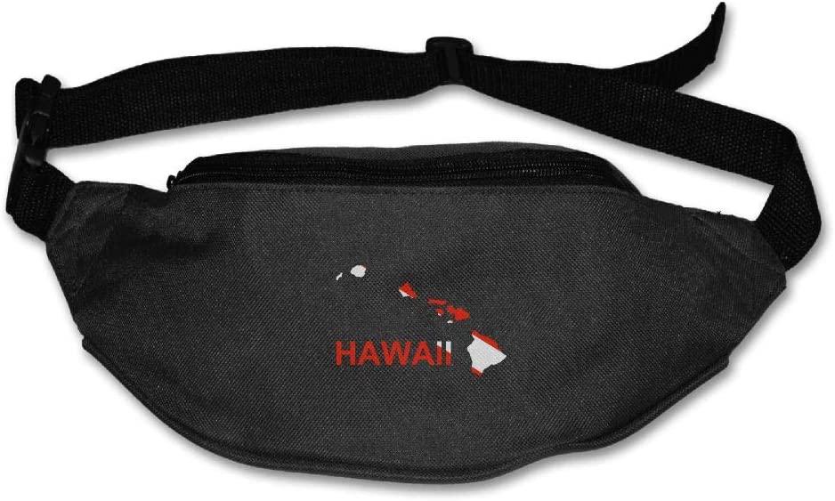 Fanny Bag Hawaii Scuba Dive Flag Unisex Fashion Waist Pack Bag with Adjustable Strap