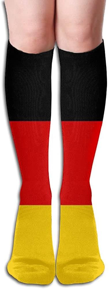 Germany Flag Women's Crew 50 Full Stockings Knee High Socks