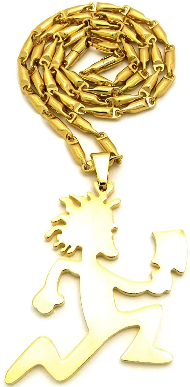 GWOOD Juggalo Pendant with Bullet Style Necklace