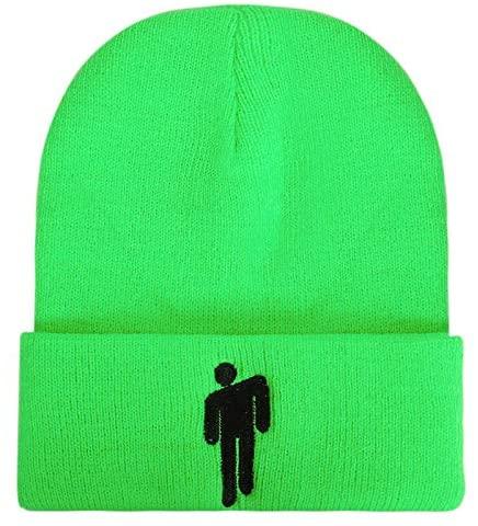 yangyuanfit BE Hat Beanie Knit Hat Unisex Embroidered Logo Eilish Knitted Cap