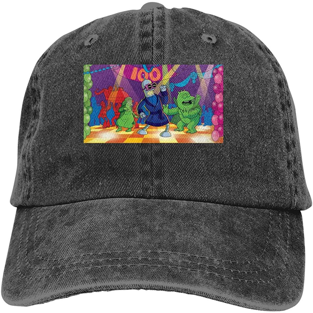 AP.Room Futurama Men's Women's Baseball Cap Adult Cowboy Hat Adjustable Athletic Hat