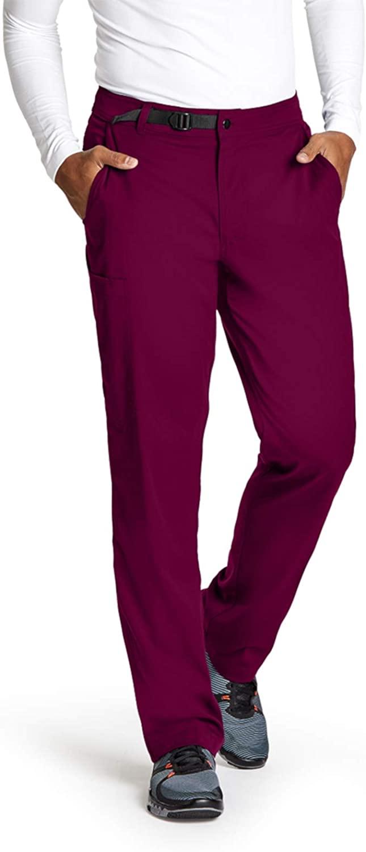 Grey's Anatomy GRSP507 Cargo Pant - Spandex Stretch Wine L Short
