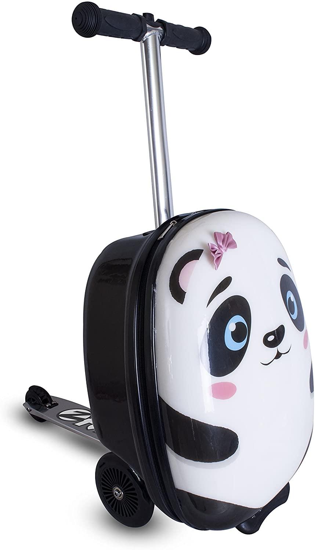 Zinc Flyte Girls' Polly the Panda, White, 18-inch