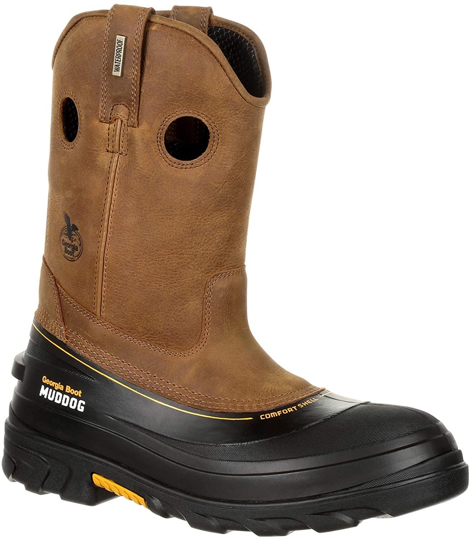 Georgia Boot Men s Muddog Composite Toe Waterproof Work