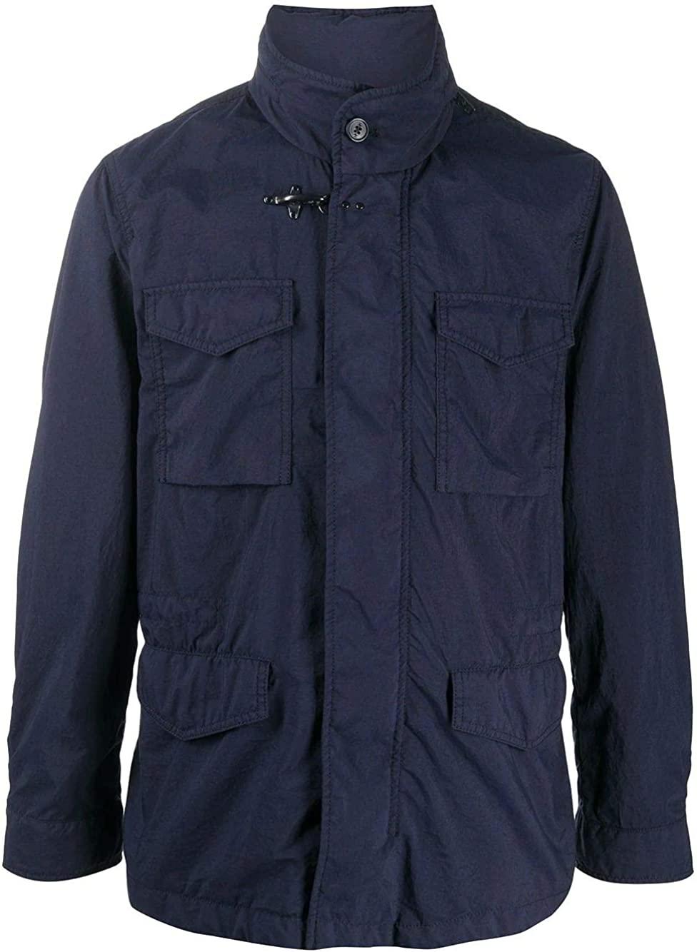 fay Luxury Fashion Man NAM0640009TRQ1U807 Blue Polyester Outerwear Jacket | Spring Summer 20